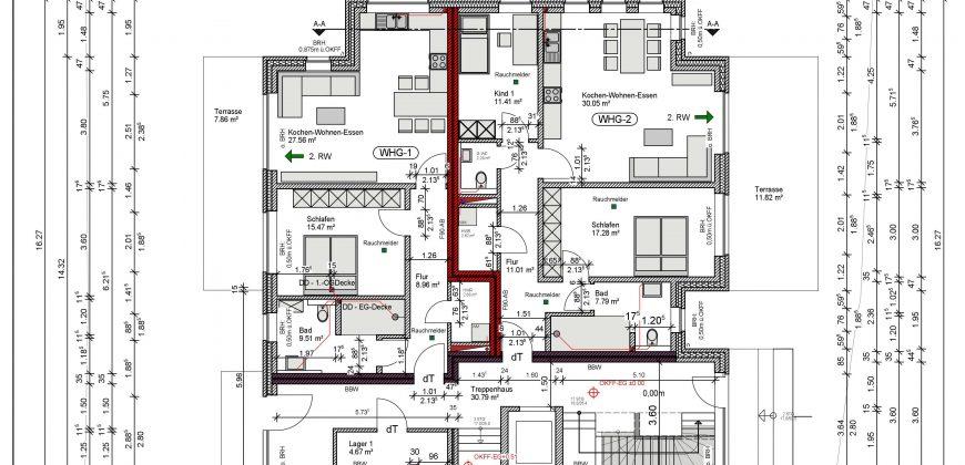 2-Zimmer Wohnung (Wohnung Nr. 1)